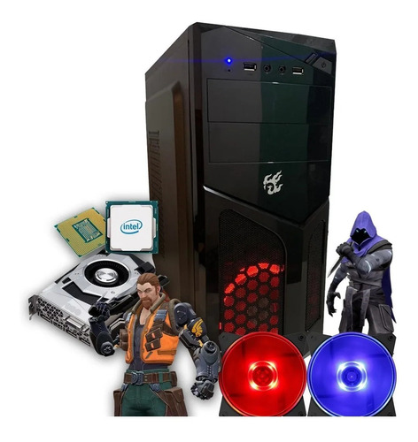 Pc Gamer Core I5 + Hd 500gb + 8gb De Memória Barato