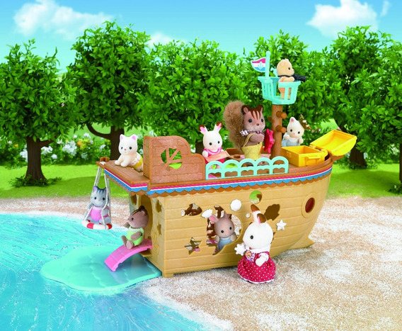 Navio Do Tesouro Sylvanian Families 5210