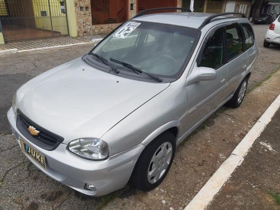 Corsa Wagon 1.6/8v - 2002 - Completa - Prata