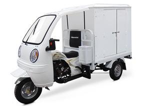 Motocarro Gasolina Con Caja Seca Y Cabina Modelo G-y28
