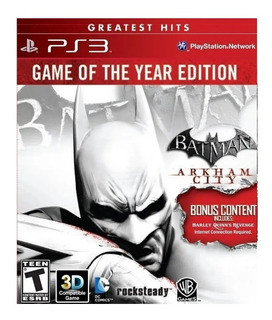 Batman Arkham City Ps3 Fisico Sellado Original Sevengamer