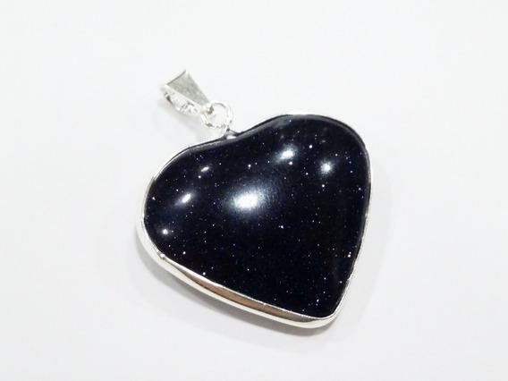 Pingente Coração Em Pedra Das Estrelas Ametista Quartzo Etc