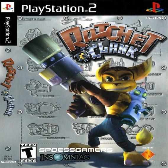 Ratchet & Clank 1 Ps2 Desbloqueado Patch