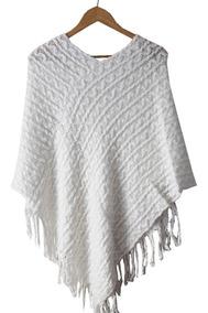 Poncho / Pala Lã Feminino Inverno Várias Cores E Modelos