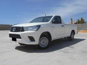 Toyota Hilux 2.7 Cabina Sencilla Mt 2018 Blanco