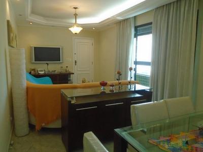 Apartamento Com 3 Dormitórios Para Alugar Por R$ 5.000/mês - Aparecida - Santos/sp - Ap3995