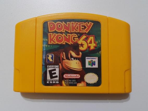 N-64: Donkey Kong 64 Original Americano! Raríssimo! Novinho!