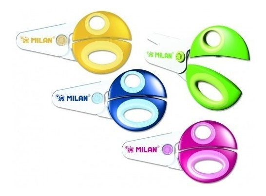 Tijeras Funny Milan Infantil Ideal Para Jardin De Infantes