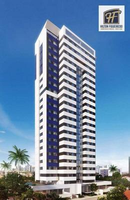 Apartamento Com 2 Dormitórios À Venda, 52 M² Por R$ 319.482 - Miramar - João Pessoa/pb - Ap5584