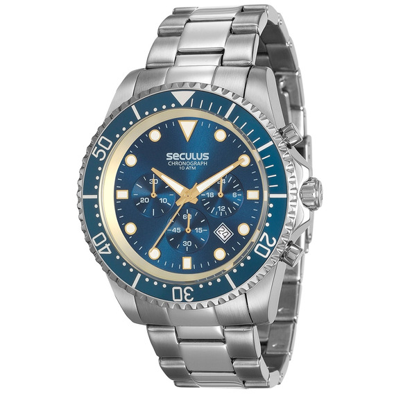 Relógio Seculus Masculino 13024g0sv