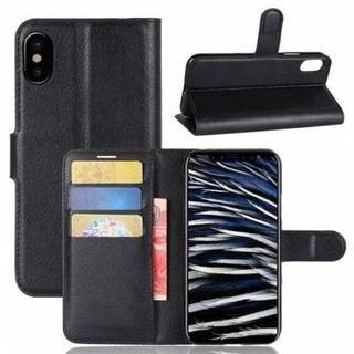 Iphone X Capa Carteira Preta