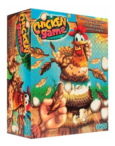 Juego De Mesa Chicken Game De La Gallina Original Huevo