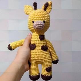 Girafa Amigurumi Pelúcia