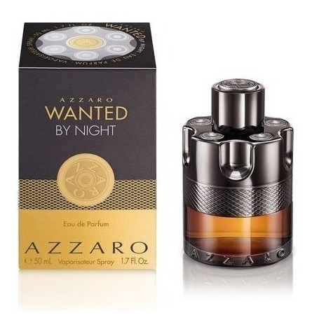 Perfume Azzaro Wanted By Night Eau De Parf 50ml Selo Adipec