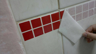 Pastilhas Em Adesivo Decorativo Sem Relevo - 45cm X 1 Metro