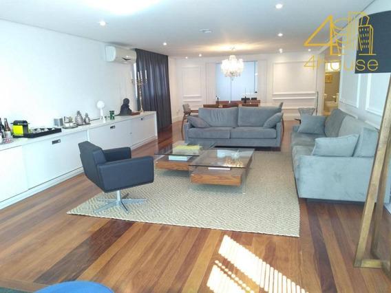Apartamento Com 3 Dormitórios À Venda, 250 M² Por R$ 2.990.000 - Jardim América - São Paulo/sp - Ap2420