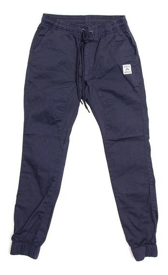 Pantalon Rusty Hook Out Elastic Azul Niño