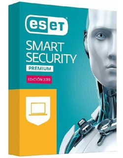 Licencia Eset Smart Security Antivirus 2019 1pc X 2 Años
