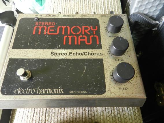 Pedal Electro Harmonix Memory Man Delay E Chorus Vintage