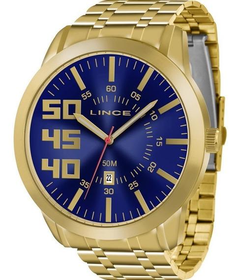 Relógio Lince Masculino Original Garantia Nota Mrg4332sd2kx