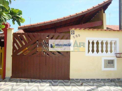Casa Com 2 Dorms, Agenor De Campos, Mongaguá - R$ 230 Mil, Cod: 817700 - V817700