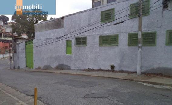 Galpao Industrial Com Exclente Terreno Zona Mista,centrico Próximo Ao Comercio E Rodovias - Fn836