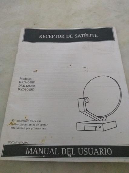 Manual Receptor De Satélite Dxd406rd Dxd426rd Dxd506rd