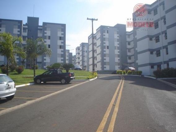 Apartamento Para Alugar, 50 M² Por R$ 800,00/mês - Nova América - Piracicaba/sp - Ap0050