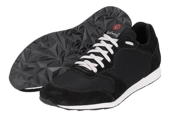 Ténis Jogger Sapato Treino Confortável 30% Off Camurça