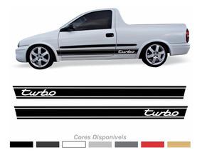 Adesivo Chevrolet Corsa Picape Turbo Faixa Lateral Imp122