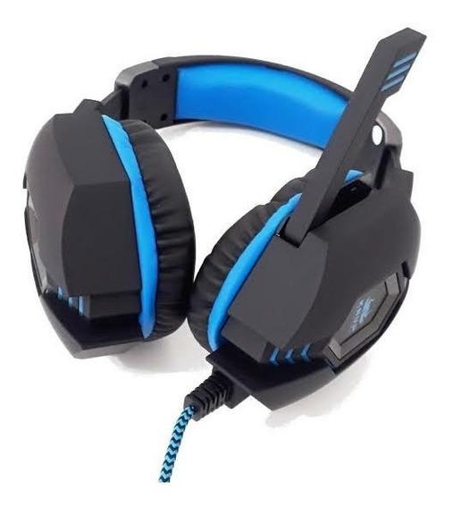 Fone De Ouvido Headset Gamer Ps4 Xbox One Pc Entrada P2