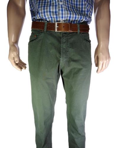 Pantalón Poplin Clásico Corte Jeans Con Elastano Legacy Orig