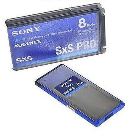 Sony Sbp-8 Gb Sxs Pro Cartao De Memoria Original