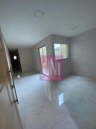 Imagem 1 de 5 de Apartamento Com 2 Dormitórios À Venda, 43 M² Por R$ 260.000,00 - Vila Homero Thon - Santo André/sp - Ap1874