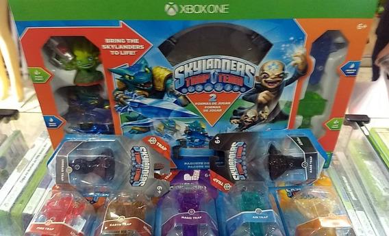 Skylanders Trap Team Xbox One Pt Br + 7 Traps (armadilhas)