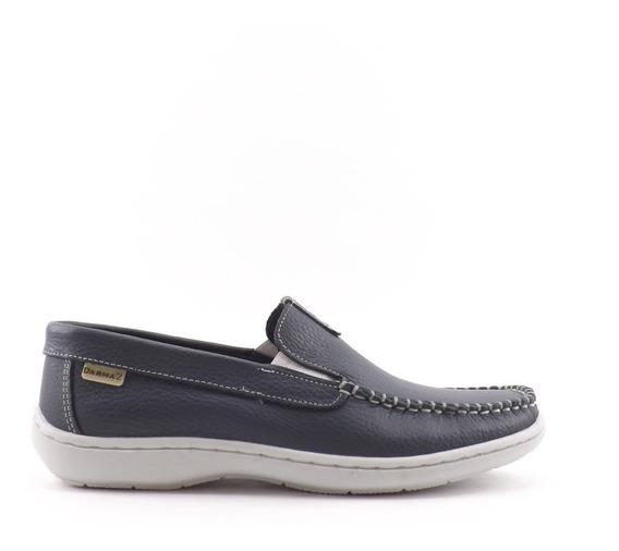 Zapatos Nautico Mocasín Hombre Cuero Darmaz Liquidacion 273