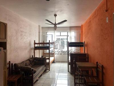 Kitnet Com 1 Dormitório À Venda, 32 M² Por R$ 99.900 - Aviação - Praia Grande/sp - Kn0004