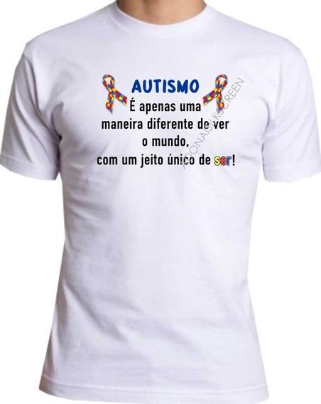 Camiseta Autismo É Apenas Uma Maneira