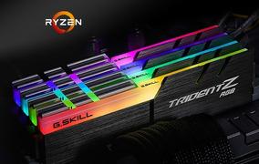 Memória G.skill Tridentz Rgb Ddr4 3200mhz 16gb 2x8 Amd Ryzen