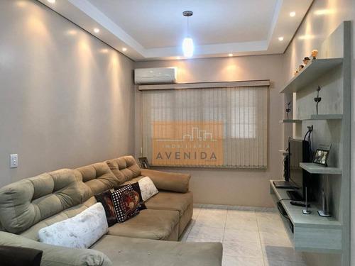 Casa Com 2 Dormitórios À Venda, 200 M² Por R$ 490.000,00 - São Luiz - Paulínia/sp - Ca1222
