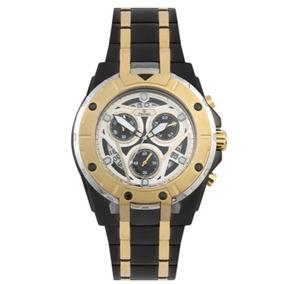 Relógio Ferrari Masc Preto/dourado T13ko68 Original E Barato