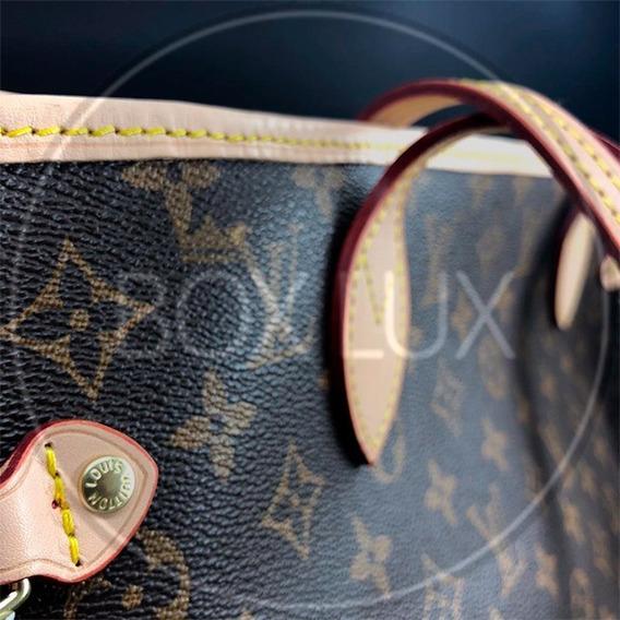 Bolsa Em Couro Louis Vuitton - Neverfull