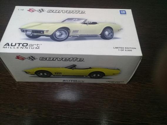 Autoart Corvette 1969 Escala 1:18