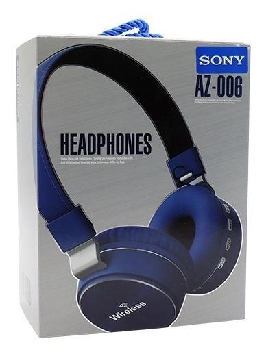 Fone Headphone Sony Az 006 Bluetooth