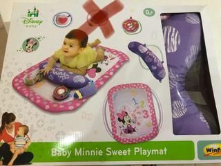 Tapete De Estimulación Para Bebés 0 A 6 Meses.