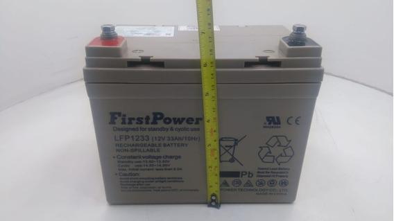 Bateria Selada Agm 12v 33ah First Lfp1233 Original Garantia