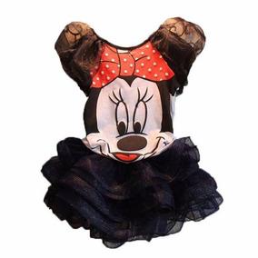 Tenida Minnie Nueva Color Negro
