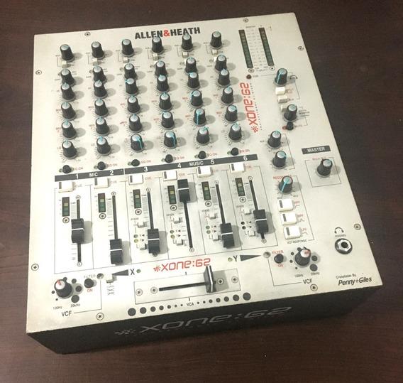 Mixer Allen Heath Xone 62 Baixei Preço Mais!