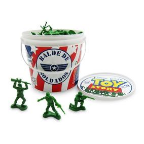 Toy Story Balde Com 60 Soldados - Toyng 26772