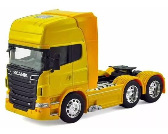 Miniatura Caminhão Scania V8 R 730 Trucado Escala 1/32 Metal